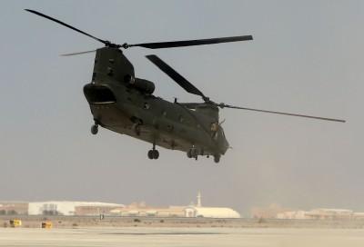 疑遭神學士砲火擊中 美軍直升機阿富汗墜毀2人陣亡