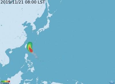 鳳凰颱風路徑持續東偏 氣象局仍不排除發布海警
