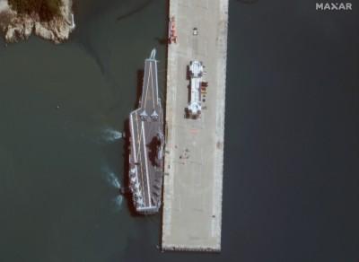 台海軍情》防台灣偵察!中國自製航艦通過海峽陣型曝光 艦名也披露
