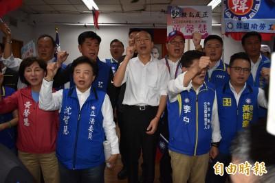 韓國瑜出席勞工後援會絕口不提「房事」 抨擊民進黨「四多」