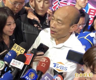 回應「有上班的市長」 韓:有領薪水的經濟部次長說資金是零