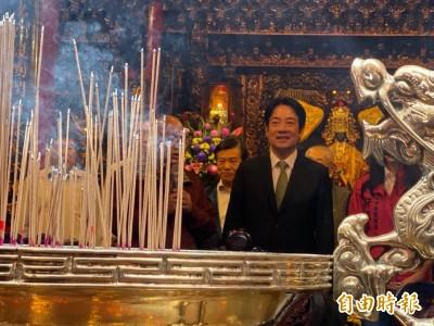 建議韓市長別再打麻將了 賴清德:台灣實實在在守護主權