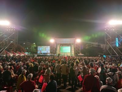 民進黨台東造勢場爆滿!現場民眾直呼:太感動了