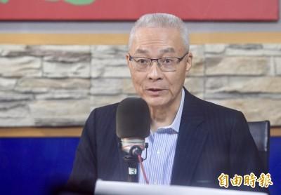 嗆民進黨不分區在總統官邸「喬」出來 吳敦義今態度轉低調