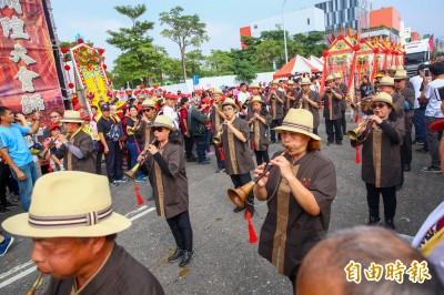 北台中城隍廟百年慶遶境 全國36城隍大會師