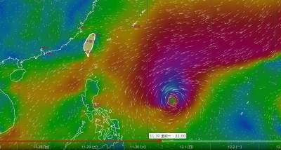 第28號颱風「北冕」26日恐生成!模擬路徑圖曝光