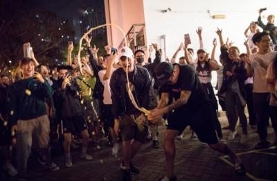 香港選舉泛民派大勝 韓競辦:北京政府應傾聽人民聲音