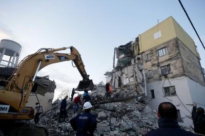 阿爾巴尼亞規模6.4強震致多棟建築倒塌 至少1死150傷