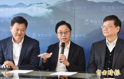 擁有3隻「艦隊」 張善政宣布成立副總統競選辦公室