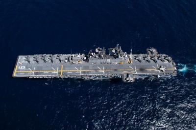 軍情動態》兩棲突擊艦「美利堅號」低調赴日  成兩棲部隊旗艦