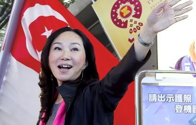 李佳芬取消新加坡行 星國外交部:不允許在國內進行他國政治活動