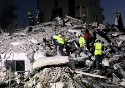 當地93年來最強!阿爾巴尼亞規模6.4強震已致22死600傷