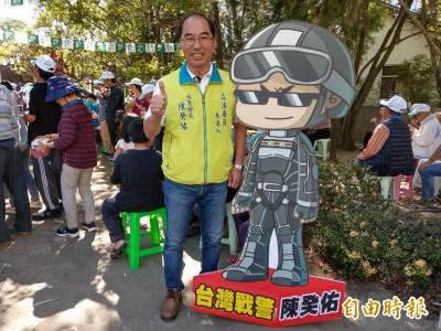 南投立委選舉》陳癸佑「台灣戰警」對打許淑華「神力女超人」