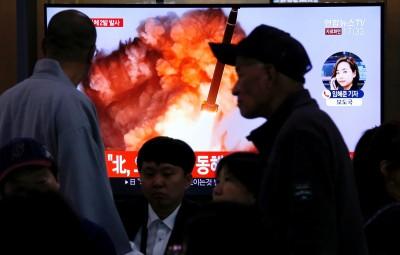 又射了! 南韓軍方:北韓今試射2枚不明飛行物