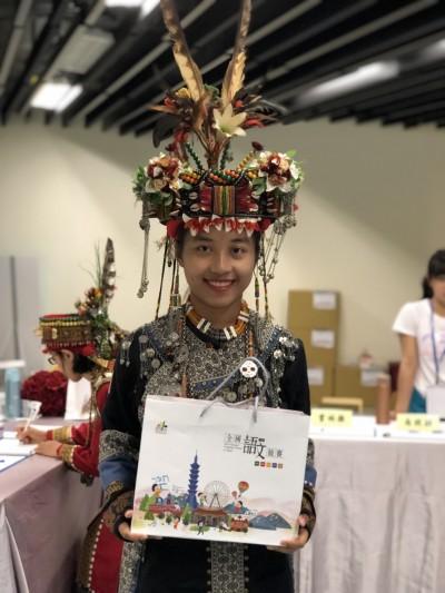 苦練魯凱族語 普門中學王珈獲全國語文競賽特優