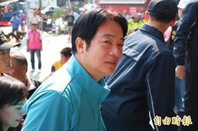 韓國瑜稱「民調唯一支持蔡英文」 賴清德回應這樣說...