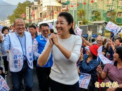 南投立委選戰 許淑華:這兩地選情「戰戰兢兢」
