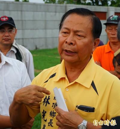 崁頂鄉長林光華涉貪交保復職後月餘 又被羈押