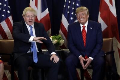 強森籲川普「別介入」英國大選 保守黨領先幅度縮至8%