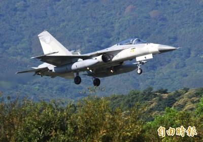 非F-16V戰機獨享  軍方動支44億建清泉崗基地IDF抗炸機堡