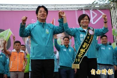 劉世芳楠梓造勢湧入4千人 賴清德、陳其邁力挺