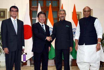 中國海洋活動日益頻繁  日本與印度同意加強聯合應對