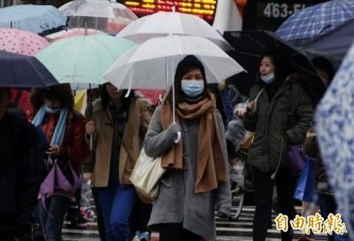 變冷、空污、多雨!未來一週各地天氣預測看這裡