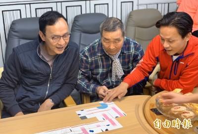 砂石濫採案 韓辦提告黃國昌 朱立倫讚:好辦法