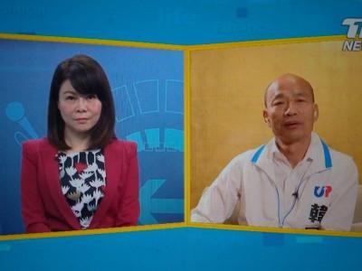 再向小英下戰帖! 韓國瑜:政見發表只是高爾夫 辯論是打乒乓球