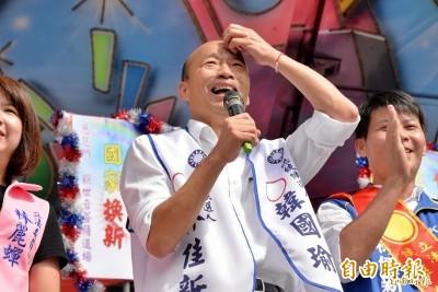 他轉發這文 李來希爆料韓國瑜「小額捐款已用完」
