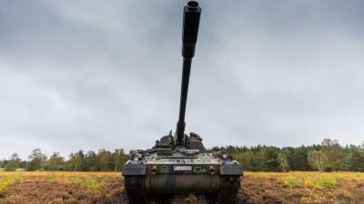 軍情動態》德軍年度地面戰力演示出動550輛戰車火力全開