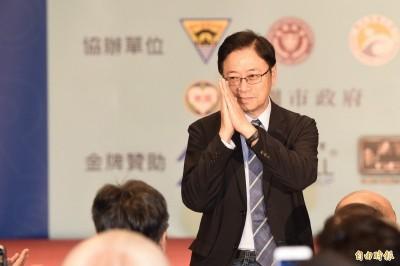 謝長廷臉書回應「卡神」案 張善政留言質疑