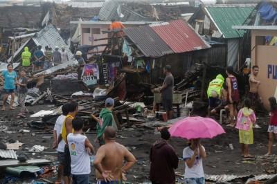北冕颱風侵襲菲律賓已釀1死 機場關閉、近500航班停飛