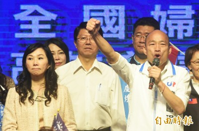 卡神遭訴 韓國瑜12小時發3文轟民進黨:用謊言掩蓋執政失敗