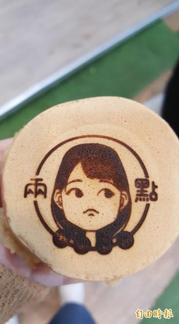 支持者販賣Q版港湖女神車輪餅 高嘉瑜分享溫馨小故事