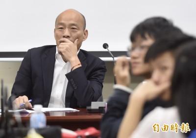 白黃合作「蛋黃聯盟」破局 綠營分析:韓國瑜失去「絕殺機會」