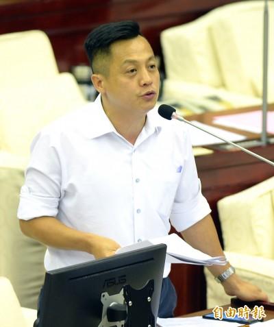 藍營北市議員赴日陳情 要求謝長廷下台道歉