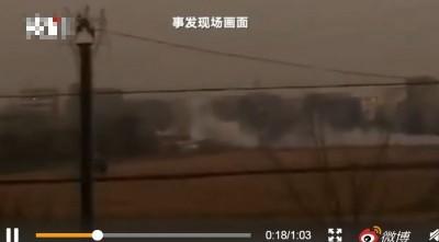 浙江海寧印染廠爆炸、污水罐體坍塌 已知9死、多傷