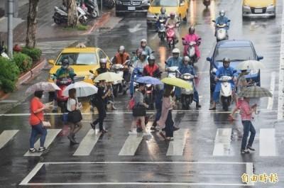 今晨低溫11.2度各地轉濕涼 北台灣防豪大雨