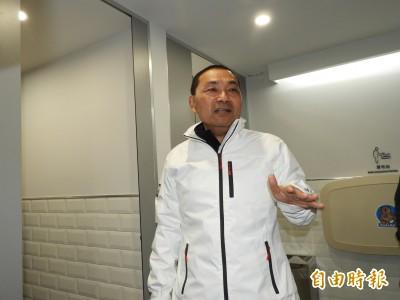 12/08為韓站台?侯友宜:已跟韓碰過面 是否同台不要太在意