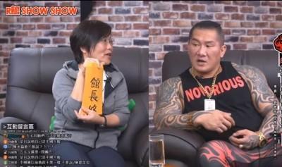 接受劉世芳、尹立道歉 館長開直播:沒有關係啦!
