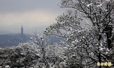 氣溫下探11度可望降初雪! 一張圖看懂週末天氣變化