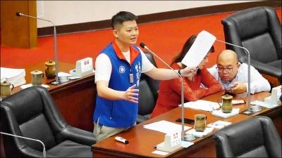 王淺秋請辭 高市議會國民黨團總召批不尊重