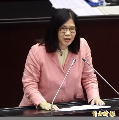 陳宜民推女警惹眾怒 管碧玲:將提案送紀律委員會議處