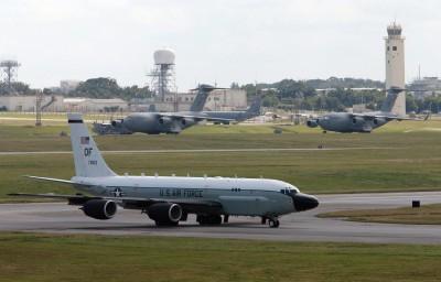 軍情動態》警告北韓! 美2偵察機同時飛臨朝鮮半島上空