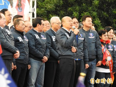 韓國瑜親口說:朱立倫接任全國競總主委