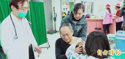 天冷!施打流感疫苗民眾多 竹市籲長輩和幼童快施打!