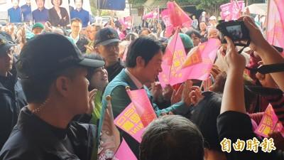 總統選舉小英抽3號 賴清德:3張選票顧台灣