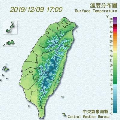 冷空氣還沒走!竹苗5縣市亮低溫黃燈 週二晚北台灣轉濕涼