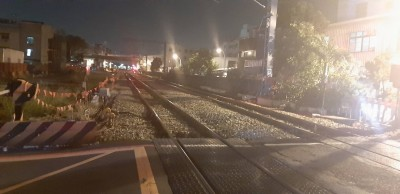 快訊》台南榮譽街平交道疑女子臥軌遭區間車撞斃